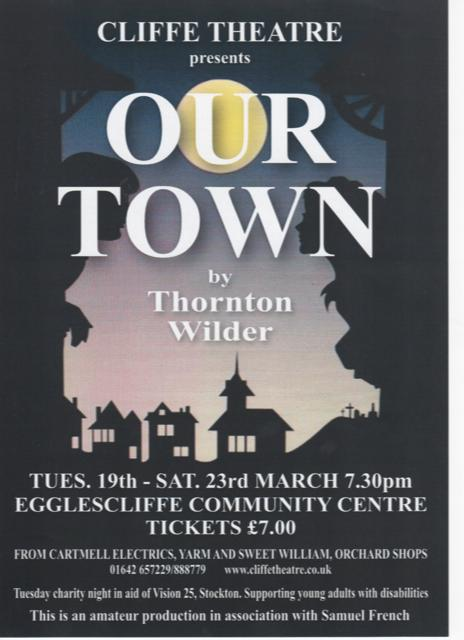 Cliffe Theatre Drama Group, Stockton on Tees